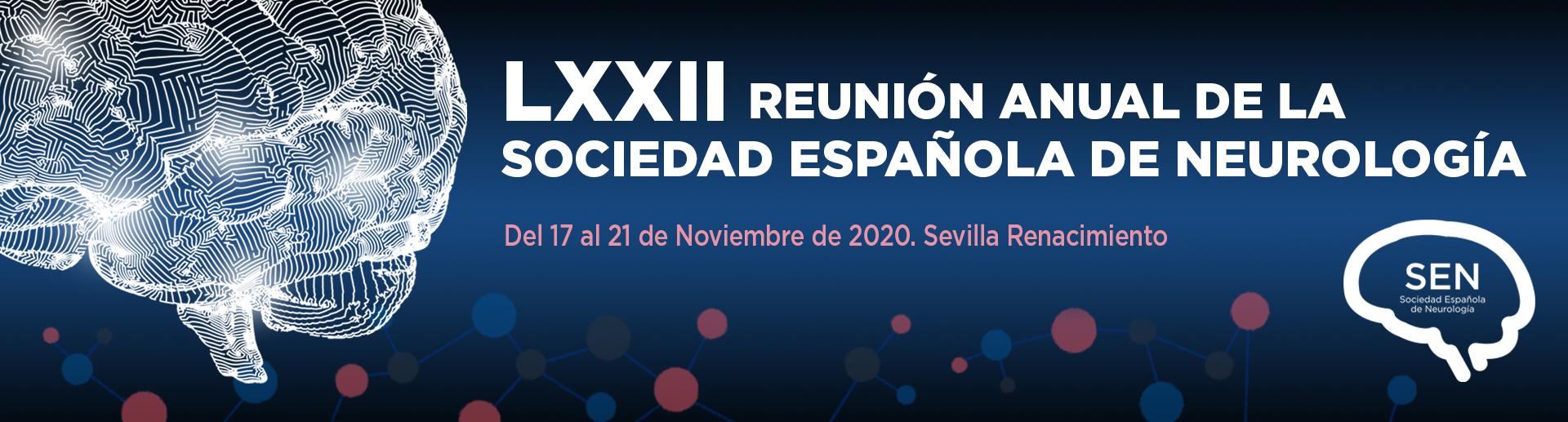<small>LXXII REUNIÓN ANUAL DE LA SEN</small>COMUNICACIONES ORALES